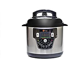 Materpot robot de cocina programable de Masterchef que cocina por ti con o sin presión y con capacidad de hasta 6 litros