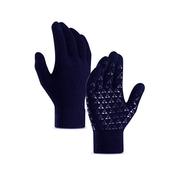 abbigliamento uomo guanti donna invernali touch screen caldi accessori uomo e donna supporto smartphone e tablet idee… 1 spesavip