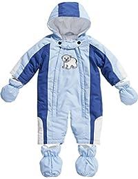 Playshoes Unisex-Baby Schneeanzug Schnee-Overall Eisbär