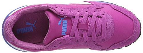 Puma St Runner Nl, Baskets Basses garçon Rose (meadow Mauve-white-marina Blue 07)