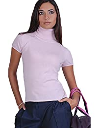 Pull femme manches courtes 100% cachemire