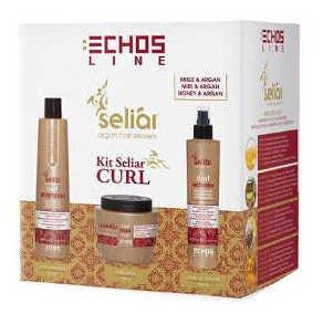 Kit Seliar Curl: Shampoo 350ml + Control