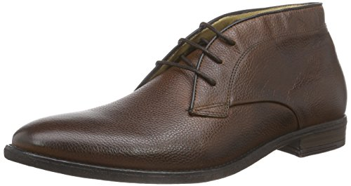 Hudson London - Lockner, Stivali chukka Uomo Marrone (Bronzo)