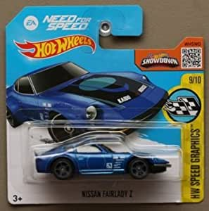 hot wheels 39 need for speed 39 nissan fairlady z blue by. Black Bedroom Furniture Sets. Home Design Ideas