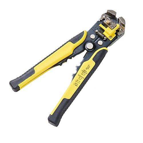 Automatische Kabel (Asvert gelbe Strippers automatische Kabel-Abisolierzange Crimp-selbstjustierende Kabelschneider Multifunktionale Terminal-Tool)
