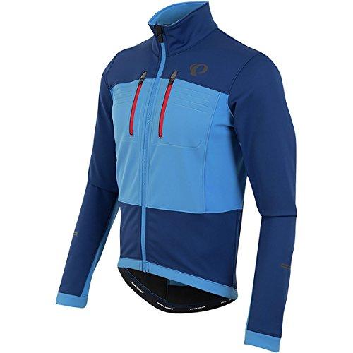 Pearl Izumi Elite Escape Softshell invernale per bici/giacca impermeabile blu 2017, Uomo, Elite Escape, Blau, (Abbigliamento Pearl)