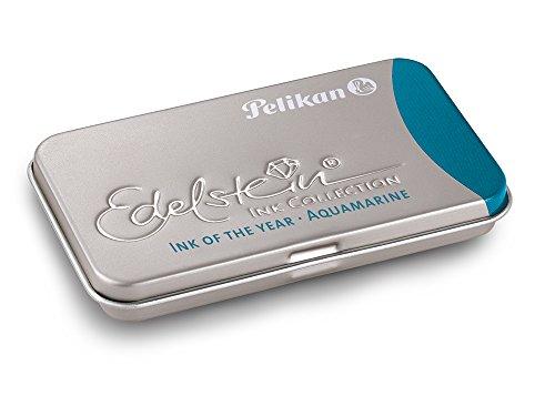 Pelikan GTP Aquamarine - Pack de 6 cartuchos de tinta