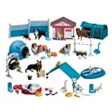 Constructive Playthings Dog Academy 51 pc. Playset by Constructive Playthings