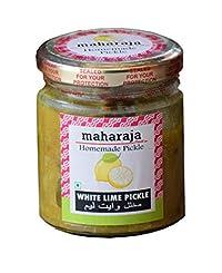 White Lime Pickle Homemade - Vella Naranga Achar - natureloc