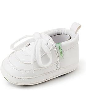 Delebao Babyschuhe Krabbelschuhe Turnschuhe Lauflernschuhe Weiche Sohle Lederschuhe Erste Kinderschuhe Baby Schuhe...