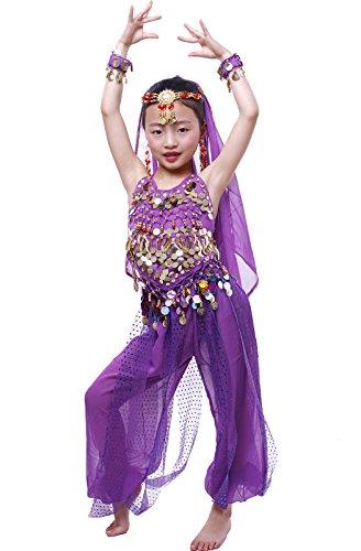 he Tanzbekleidung L Lila (Lila Genie Kostüme)
