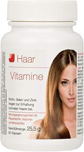Vihado Haar-Vitamine - intensiv Vitalformel, Biotin +