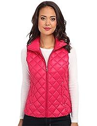 Ralph Lauren Packable Quilted Down Vest Sabrina Pink Size Large