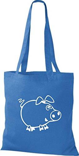 Shirtstown Stoffbeutel Tiere Schweinchen Schwein Ferkel Royal