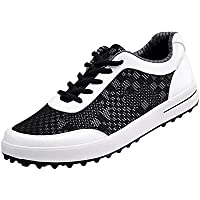 arrives b9cad e4a1f Zapatos de Golf de Malla Transpirable Spikeless para los Hombres