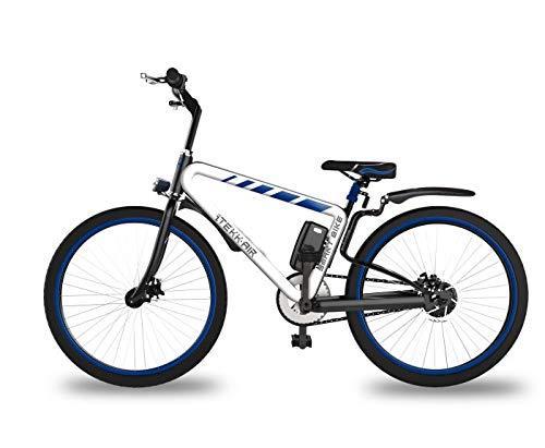 Itekk smart, e-bike unisex - adulto, blu, m