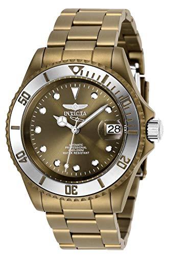 Invicta 27549 Pro Diver  Reloj Unisex acero inoxidable Automático Esfera marrón