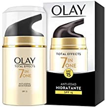 Olay Total Effects 7en1 Hidratante Anti-Edad De Día SPF 15 50 ml, Combate
