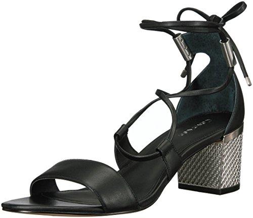 Calvin Klein Damen Sandalen, schwarz, 37 EU