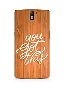AMEZ you got this Back Cover For Oneplus One