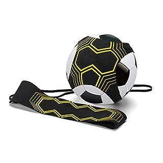 Ritte Football D'entraînement, Professionnel Sport Assistance Entraîneur De Football Réglable, Ballon De Football Entrainement avec Élastique Ceinture Ajustable, Contrôle Football Adulte Contrôle