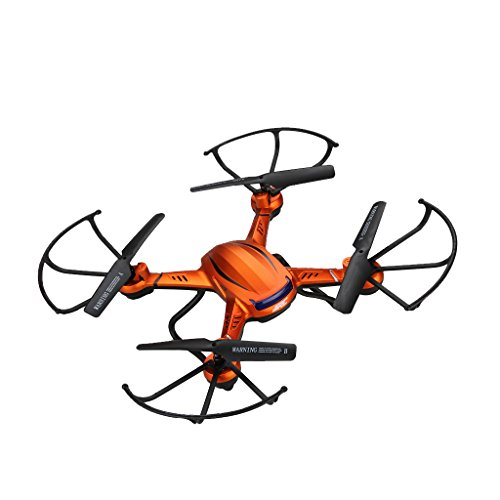 JJRC-H12W-A-WIFI-FPV-24G-4CH-6-Axis-Gyro-RC-Quadcopter-With-20MP-HD-Camera-Orange-1-Set-of-Free-Floureon-Props