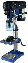 Einhell Säulenbohrmaschine BT-BD 701 (230 V, 630 W, Spindeldrehzahl 220-2450 min-1, Ausladung 126 mm, MK2-Aufnahme, neigbarer Bohrtisch, inkl. Schraubstock)