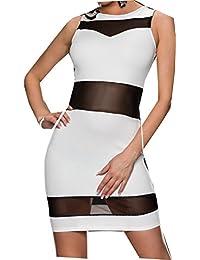 bbf6acdbf8b Amazon.fr   droite - modetendancesexy   Robes   Femme   Vêtements