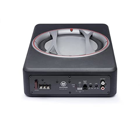 MacromM2SW.801 Caisson de basse actif avec amplificateur, Noir