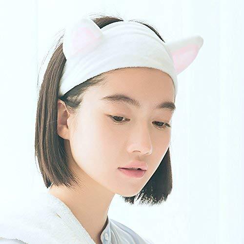 Aibada 2 Stück süße modische Katzenohren-Haarbänder für Damen und Mädchen