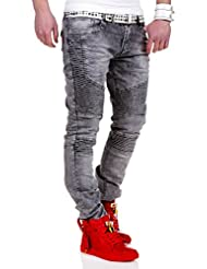 MT Styles Biker Jeans Slim Fit pantalon RJ-2065