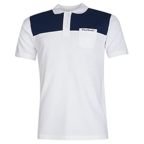 Pierre Cardin Herren Poloshirt Mehrfarbig Mehrfarbig Gr. S, Mehrfarbig - weiß