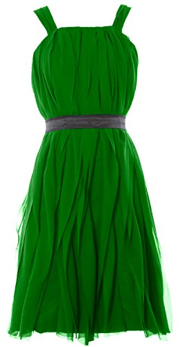MACloth - Robe - Cocktail - Sans Manche - Femme Vert - Vert