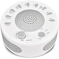 TYUE [2019 más recientes] Sueño máquina de Ruido Blanco, 9 calmante Natural Sonidos Terapia para el bebé, insomnio, Problemas para Dormir, Seniors, Oficina fácilmente con Opciones de Temporizador
