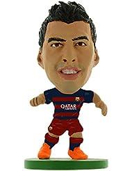 Soccerstarz - 400845 - Figurine Sport - Fc Barcelona Luis Suarez - Maillot Domicile