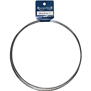Zinc metal rings 7 3 pkg toys games for 3 inch rings for crafts