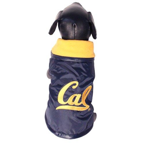 Erwachsene Oberbekleidung (NCAA California Golden Bears Allwetterfeste Schutz-Oberbekleidung für Hunde, Unisex-Erwachsene, Team Color, X-Small)