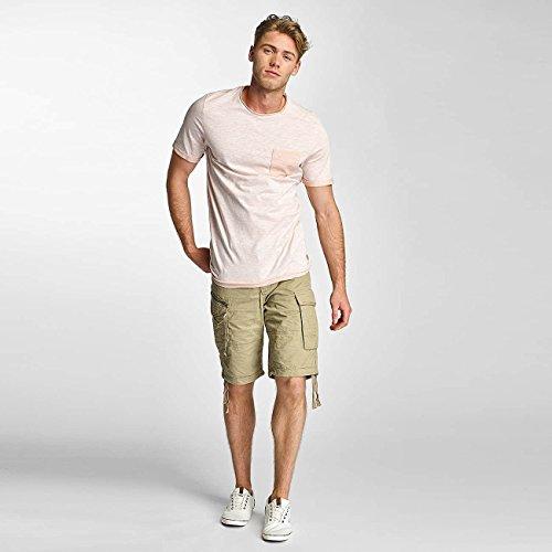 JACK & JONES Uomo Maglieria/T-Shirt jorDown Rosa chiaro