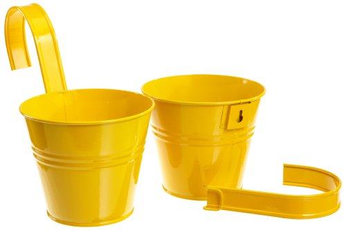 siena-garden-722604-blumentopf-2er-set-gelb-inkl-halter