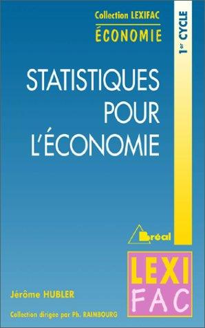 Statistiques pour l'économie