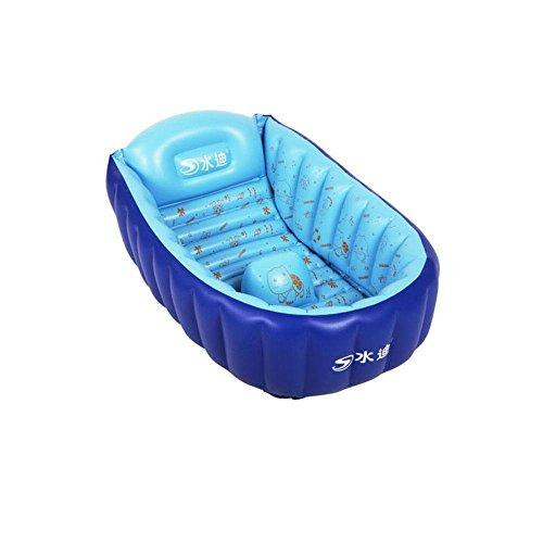 FACAI888 Baby aufblasbaren Whirlpool Badewanne/Dusche , blue