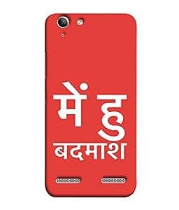 PrintVisa Designer Back Case Cover for Lenovo Vibe K5 Plus :: Lenovo Vibe K5 Plus A6020a46 :: Lenovo Vibe K5 Plus Lemon 3 (Bold Words Stylish Sayings)
