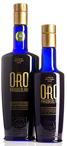 SERIE ORO Parqueoliva. Aceite Oliva Virgen Extra DOP
