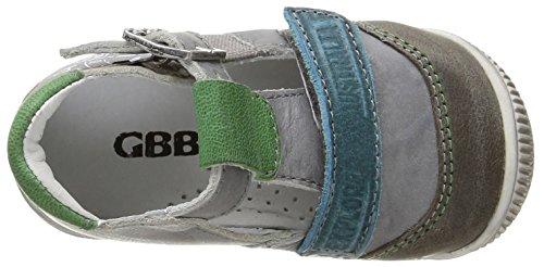 GBB - Martin, Scarpine primi passi Bimbo 0-24 Grigio (Gris (11 Vte Gris/Turquoise Dpf/Raiza))