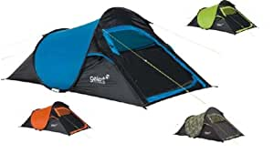 Quickpitch Compact 2 - Gelert Spacious 2 Man Pop-up Tent - Festival Range 2014 - Outdoors, Camping (Army Camouflage)