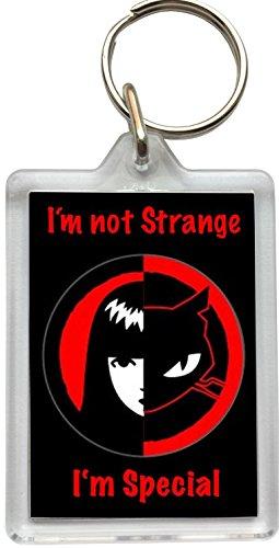 Keyring Emily The Strange–Ich Bin Nicht Strange Schlüsselanhänger