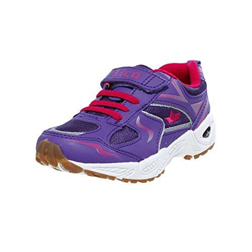 Lico BOB VS, Chaussures indoor fille Violet
