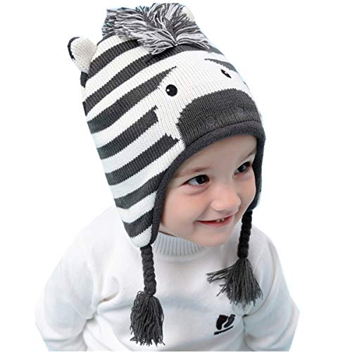 Girl's Hats,scarves & Gloves Sets Cokk Winter Hat And Scarf Set For Girls High Quality Knitted Cap Kids Hat Ear Flaps Thick Warm Boy Children Hat Set With Pompom Apparel Accessories