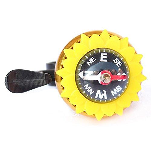 UniEco Blumen Fahrradklingel Laut Fahrradglocke Bike Bell Zubehör
