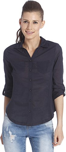Only Women's Navy Coloured Formal Shirts
